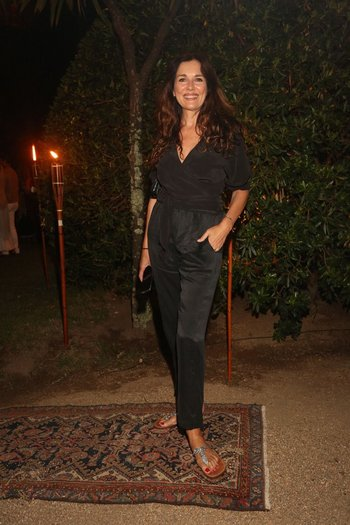 Andrea Frigerio en la fiesta de Giuseppe Cipriani