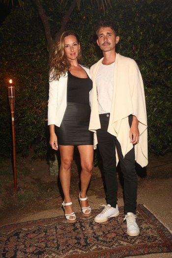 Catarina Spinetta y Nahuel Mutti en la fiesta de Giuseppe Cipriani