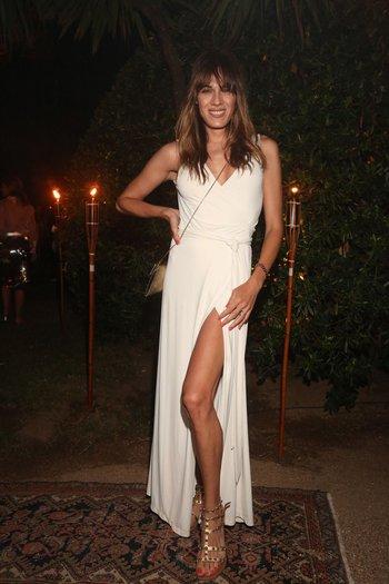 Mariana Genesio en la fiesta de Giuseppe Cipriani