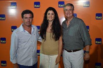 Victor Paullier, Lucia Cabanas y Horacio Vilaró