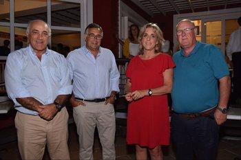 Jorge Tilve, Diego Camacho, Margarita Sapelli y Ruben Lizarralde