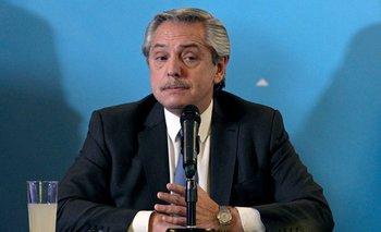 Alberto Fernández, presidente de los argentinos.