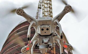 Los drones son muy efectivos para manejarlos a distancia.