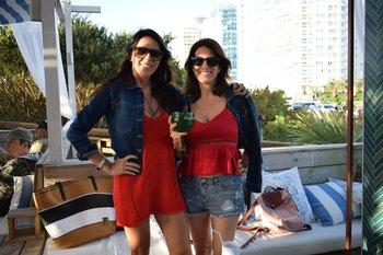 Cintia Tossello y Anahi Chirca