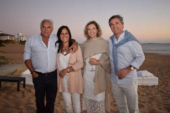 Sandro Mazzoli, Patricia Vigliani, Leonor Blanco y Luis Mateu