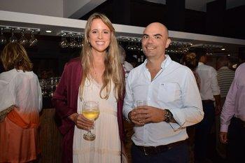 Fernanda Patron y José Miranda