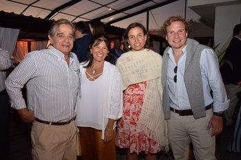 Martin Pérez del Castillo, Marta Bentancor, Lorena Garin y Joaquin Morixe