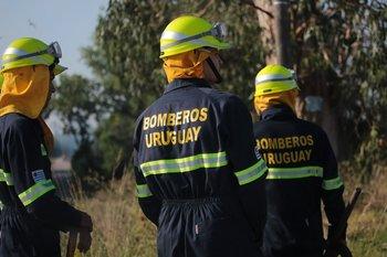 Foto de archivo. El incendio se produjo en calle Boreal y Martinica, en Ciudad del Plata
