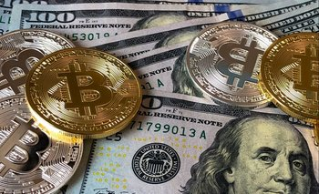 La cotización del bitcóin  subía este miércoles.