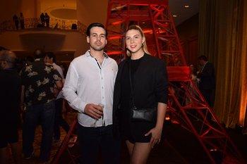 Juan Lanza y Gabriela Vicente