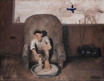 Lavándose los pies/ Drama (2000). ITURRIA