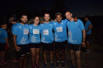 Rafael Suárez, Alejandra Delgado, Rodolfo Baliñas, Fabian Accetto y Fabian Daneri