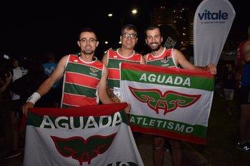 Adrian Gabachutto, Diego Espindola y Felipe Rego