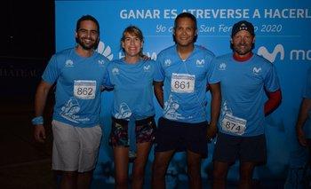 Gonzalo Barat, Lucia Barbosa, Alexis Ayarza y Guzman Negrin