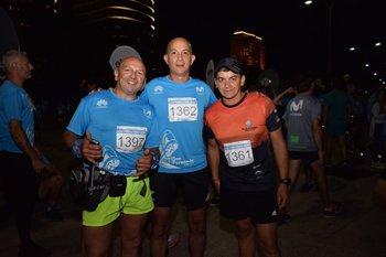 Luis Correa, Fernando Brum y Marcelo Fernández