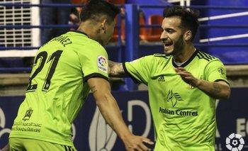 El delantero Darwin Núñez (21), abrió el camino al triunfo de Almería