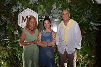Socorro Reyes, Lucia Soria y Jorge Gerez