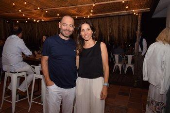 Gabriel Colla y Cecilia Bonino