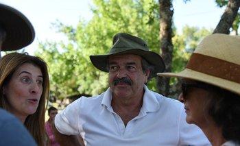 Carlos María Uriarte durante el último acto de Un Solo Uruguay