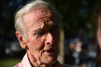 """Enrique """"Quique"""" Urioste, es un productor y gremialista rural que con sus 93 años sigue firme al pie del cañón."""