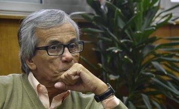 Juan Castillo, secretario general del Partido Comunista del Uruguay (PCU).