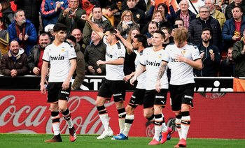 Con Valencia, Maxi Gómez lleva nueve goles