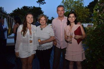 Catalina Quiroz, Gilda Caputi, Paolo Pedrazzi y Daniela Pi