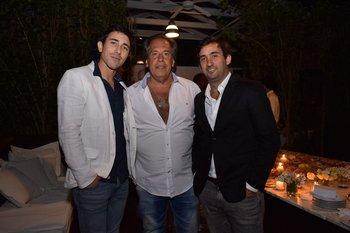 Jorge Fucile, Gustavo Trelles y Bari Monzeglio
