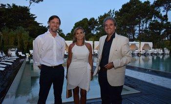 Tomás Bartesaghi, Mariana Dardano y Remo Monzeglio