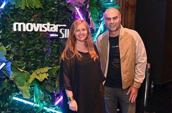 Virginia Rico y Fernando Leis