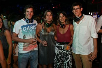 Tomás García Pintos, Florencia Caffaro,  Clara Laborde y Gerardo García Pintos