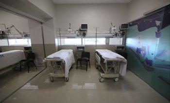 Hay unas 800 camas de CTI operativas