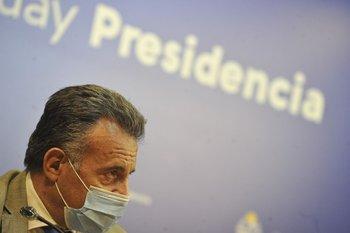 Salinas se refirió al número alto de contagios y dijo que no eran fáciles de digerir
