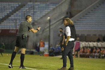 """""""No me hablés más, jugá al fútbol o te vas"""", le dijo el juez"""