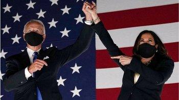 Joe Biden y Kamala Harris asumen sus nuevos cargos este 20 de enero.