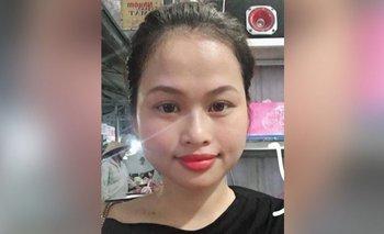 La joven Pham Thi Ngoc Oanh envió un mensaje que nunca se envió