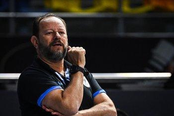 Jorge Botejara, entrenador de Uruguay