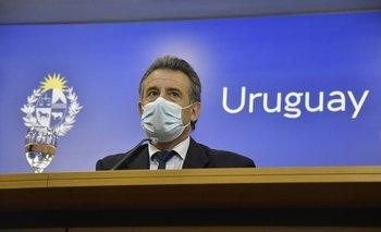 El ministro de Salud Pública Daniel Salinas