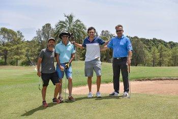 Javier lestido, Nicolas Jodal, German Campiglia y Fabian Lamela