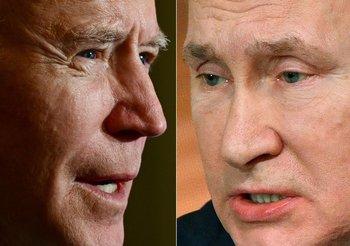 """Joe Biden calificóde """"asesino"""" a Vladimir Putin, quien le respondió: """"El que lo dice lo es"""""""