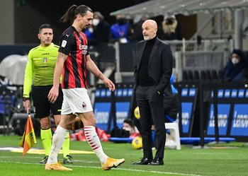 Ibrahimovic se fue expulsado