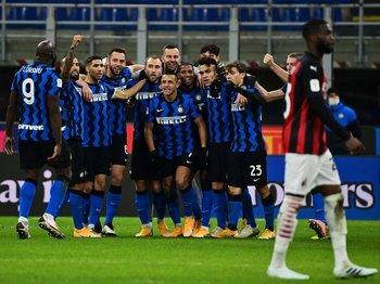 El festejo de Inter