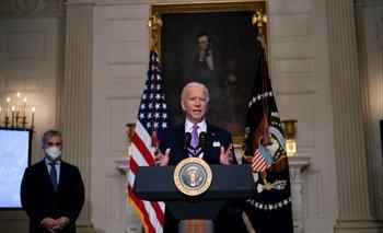 el Congreso avanza hacia la aprobación del paquete de rescate de US$ 1,9 billones del presidente Joe Biden