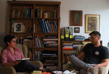 Víctor Fernández y Pedro Copelmayer