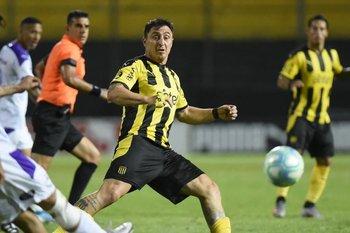 Cristian Rodríguez: entró y jugó 10