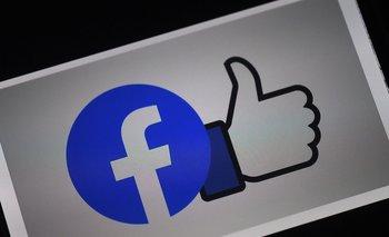 Logo de la empresa Facebook