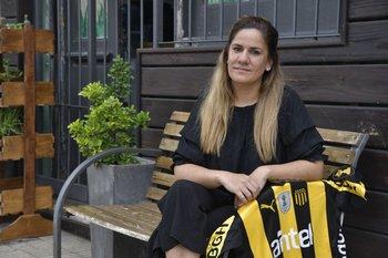 Patricia López, la actual presidenta de la Comisión de Gestión Humana de Peñarol