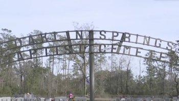 El cementerio Oaklin Spring existe desde los años 50, cuando la discriminación racial era legal en Estados Unidos.