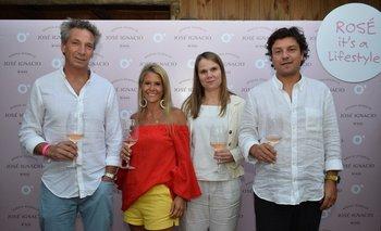 Pablo Fernñandez, Liliana Leites, Natalia Welker y Marcelo Conserva