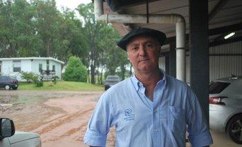 Juan Carlos Tafernaberry, presidente de la Sociedad de Criadores de Merino Australiano